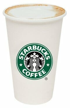 Starbucks Skinny Latte - The Latte Factor